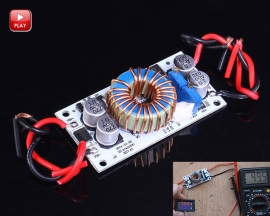 250W High Power Step Up Constant Current Constant Voltage Power Supply Module Boost Converter Module DC 8.5V-48V to 10-50V
