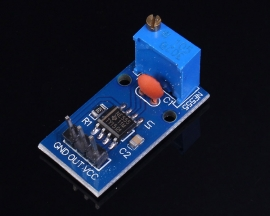 NE555 Pulse Generator Module Frequency Adjustable 5-12V 29x12mm