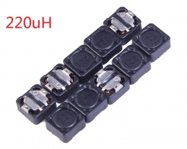 10pcs 220uH 221 CDRH74R Shielding Inductor SMD Power Inductor 360mA 7x7x4mm