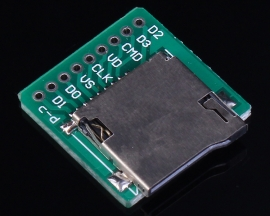 Micro SD Card Interface Pinboard Module 20x20mm For TF Card