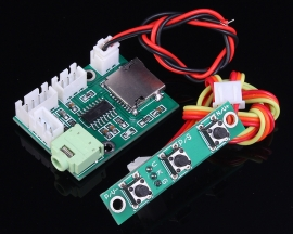 MP3 Decoder Module DC 5V 10mA Support MP3 WMA For SD Card U-Disk