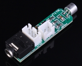 Microphone Amplification Circuit Module DC 1.5-5V 45x12mm