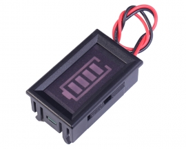 2S 8.4V Lithium Battery Indicator Blue Battery Display w/ Shell