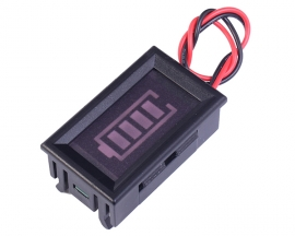3S 12.6V Lithium Battery Indicator w/ Shell Blue Battery Display