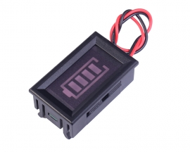 4S 16.8V Lithium Battery Indicator Blue Battery Display w/ Shell