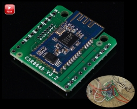 CSR8645 Bluetooth V4.0 Amplifier Board Module APTX 2*5W for DIY Bluetooth Sound Box