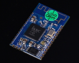 IS1681S Bluetooth V3.0+EDR Stereo Audio Module 3.3-4.5V 30mA 25.5x16x2mm