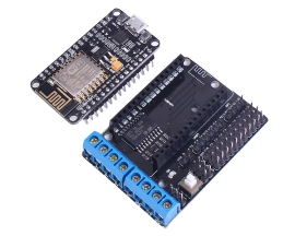 NodeMCU+Motor Drive Shield Expansion Board ESP-12E DEV Kit