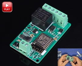 DC 7-30V ESP8266 WIFI Relay Module ESP-12F Network Relay Module 220V 10A Development Board