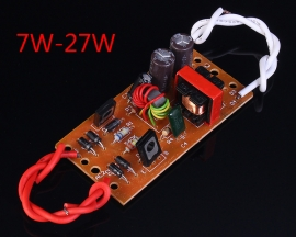 7W-27W Electronic Rectifier Board 6.5x3.3x1.8cm For Table Lamp