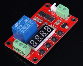 Temperature Control Relay Module Digital Display DC 5V 66x40x20mm