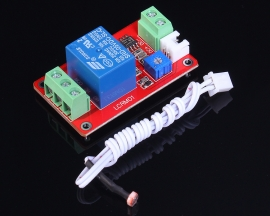 Photoresistance Relay Control Module Light Control Switch Module 5V 90mA