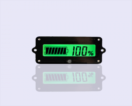 24V Lead-Acid Battery LY4 Battery Capacity Indicator Tester Voltmeter Detector Green Light