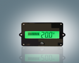 12V Lead-Acid Battery LY5 Battery Capacity Indicator Tester Voltmeter Detector F5 Display Voltage