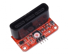Wireless Joypad To Serial Port Pinboard Adapter Board For PS2 PS3