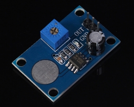 Touch Delay Timing Module 1-30s Adjustable NE555 Monostable Circuit 5V 32x20x13mm