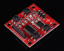 4-Channel Infrared Learning Module + 4-Key Remote Control 3-5V 30x30mm