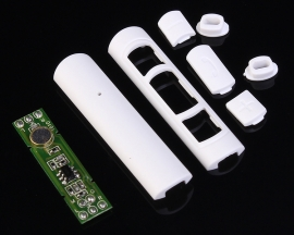White Volume Control Key Board Volume Adjustment Call DIY Headphone for Android/IOS