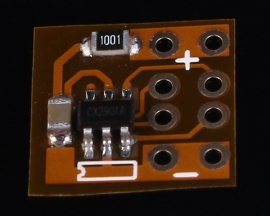 Double Channel USB Charging Identify Board 2.4A 10x10mm