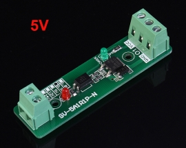 5V Single Channel Relay Driver Module Photoelectric Isolation Input NPN/PNP
