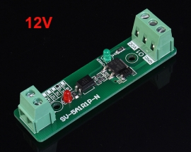12V Single Channel Relay Driver Module Photoelectric Isolation Input NPN/PNP