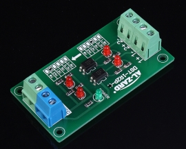 5V To 24V 2-Channel 2Bit Photoelectric Insulation Module Level Voltage Converter Board PNP Output