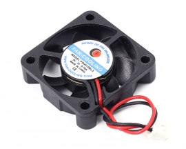 DC 5V 0.11A Double-Wired 7 Blade Cooling Fan Double Ball Bearing 40x10mm