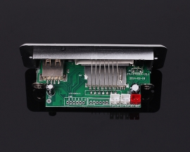 DC 3.7-5V Audio Receiver USB SD TF Card MP3 Decoder Board Wireless Audio Player Module FM Radio Module Speaker Power Amplifier