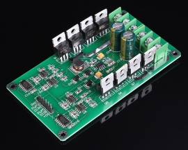10A Dual Channel Motor Driver Module High Power Control Board H Bridge 3-36V Heavy Braking