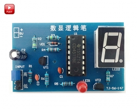 CD4511BE DIY Kit Module LED Display Digital Logic Test Module Learning Suite