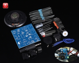 TDA2822M DIY Kit Voice Module Loudspeaker Circuit Board for Learner Soldering Practice Training Kit