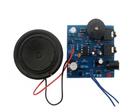 TDA2822M DIY Kit Voice Module Loudspeaker for Learner