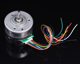 Micro Brushless Motor Emergency Stop PWM Speed Regulation Motor DC 12V 180mA 4800RPM