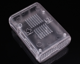 Transparent Plastic Case Box Shell Acrylic Cover for Raspberry Pi 2/3 Model B/B+