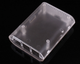 Plastic ABS Frosted Transparent Shell Cover Acrylic Case for Raspberry Pi