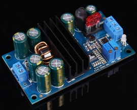 Auto Step-Up/Down Boost Buck Charing Module W/Indicator Lamp Overheat Protection 10-60V 6A