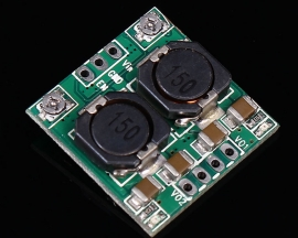 DC/DC Double Channel Step-Down Buck Output Module 12V To 9V/5V/3.3V 3A For Vehicle Power