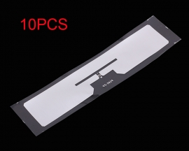 10PCS 9654 Electronic Tag Label H3 High Frequency 860-960MHz 19x93mm for Glass Accessories