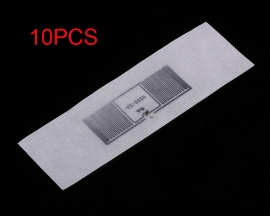 10PCS 9620 Electronic Tag Inlay Label 915MHz 13x10mm for Cloth Management