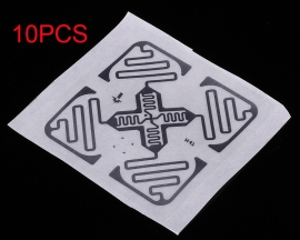 10PCS RFID UHF Radio Frequency Electronic Tag Label 915MHz Electronic Components