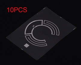 10PCS RFID UHF Radio Frequency Passive Electronic Tag Label Diameter 35mm 900MHz