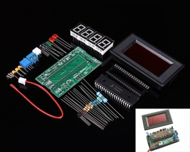 AMM-TE ICL7107 DC 5V 35mA 4 Digits Segments Red Digital Display Ammeter DIY Kit