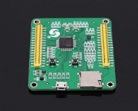 STM32F4 Micropython Board STM32F405RGT6 Pyboard STM32 MicroPython Core Development Board Module 1MB Flash 192+4Kb SRAM with Wire