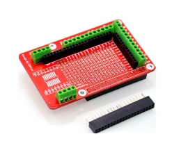 Prototype Expansion Board GPIO Shield Module for Raspberry Pi 2/B+