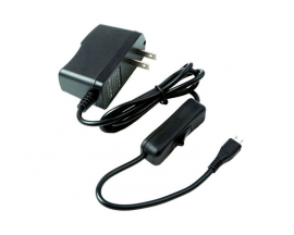 US Plug AC DC Power Adapter 5V 2.5A Micro USB Output Charger for Mobile Phone Raspberry Pi 3