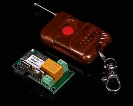 12V 1-Channel 1-Bit Wifi Switch Module + 433MHz Remote Control Inching Self-Lock
