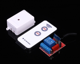 220V Wireless Control Switch Module + 2-Key 433MHz Remote Control 10A 10-30m