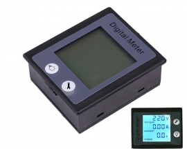 AC 80-260V 0-10A Digital Display Multi Function Voltmeter Ammeter Power Meter
