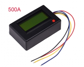 500A Bluetooth Multifunctional Display Voltmeter Ammeter Energy Power Meter Timer Clock