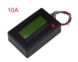 10A Digital Display Ammeter Voltmeter Power Energy Power Clock Reverse Connection Protection